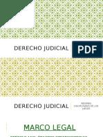 Derecho Judicial 6to