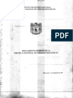 Reglamento Interno ENCB