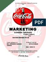 Final Coca Cola Project Report Nitin