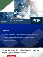 Infoblox - Dyn Attack Webinar