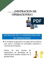 Concepto, Importancia de AO, Sistema de Operaciones