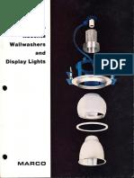 Marco Adjustable-Accent-Wallwash Downlighting Catalog 1980