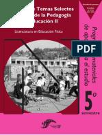 1 Seminario de Temas Selectos de Historia de La Pedagogía y La Educación II