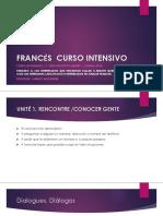 Unidad 1 Curso de Francés Proyecto Quebec Canada 2018