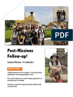 Cambodia FollowUp