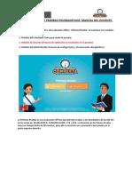Manual de Usuario Docente - Aplicativo de Evaluación Offline