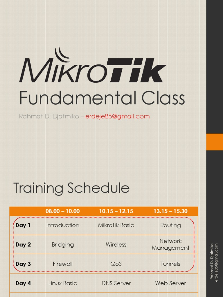 252461724-Pengenalan-MikroTik-MTCNA pptx | Command Line Interface