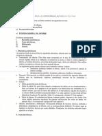 Normas Para La Confección Del Informe de Práctica