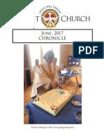 Christ Church Eureka June Chronicle 2017