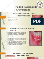 Cruz Liseth Estomatitis Aftsa Recurrente