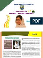 4. Malala Yousafzai