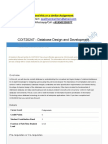 COIT20247 - Database Design and Development
