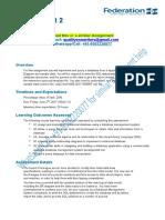 ITECH 1006 Assignment 2 Sem1 2017 (2)