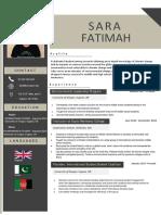 sara fatimah resume