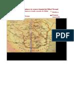 Teritoriul Românesc in Vremea Domniei Lui Mihai Viteazul
