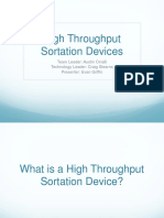 High Throughput Sortation Devices (1)