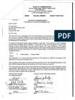 Commissioners Letter of Understanding for its contribution to the Coos Bay Boat Building Center