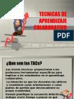 Tecnicas de Aprendizaje Colaborativo