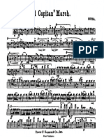 Sousa - El Capitan (1st Bb Clarinet)
