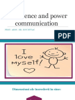 Confidence and Power Communication