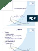 Analysis of Gait in Water (Lambeck 2009)