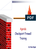 Checkpoint (CCSA-NGX) Course Details