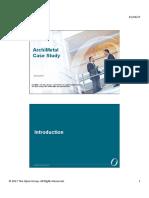 ArchiMetal Case Study (Slides)