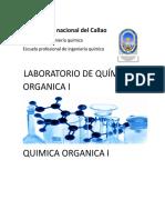 Laboratorio de Química Organica i