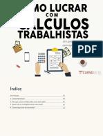 eBook Como Lucrar Com Cálculos Trabalhistas