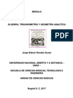 Modulo Algebra Trigonometria y Geometria Analitica 2017