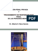 Acción Penal Privada y Resp Morales