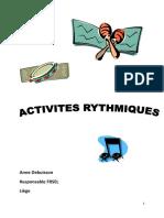 Activites Rythmiques