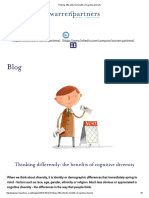 Thinking Differently_ the Benefits of Cognitive Diversity