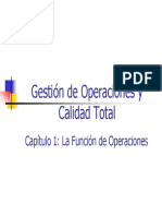 01 - La Funcion de Operaciones