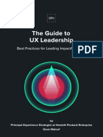 Guide to Ux Leadership