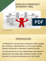 Destreza Basicas de La Redaccion y Comunicacion Escrita
