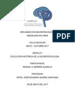 Evolución Histórica de La Neuropsicología