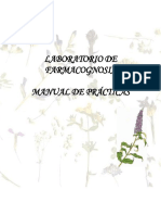 Manual de Farmacognosia