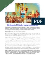 Diccionario UB de Las Playas Venezolanas