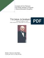 Teoria Dominatiei_Alina Stancescu (1)