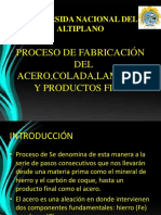 268108370-Proceso-de-Fabricacion-Del-Acero-Colada-Laminado.pptx