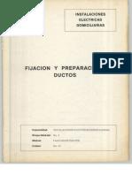 Vol. 43 Instalaciones Eléctricas Domiciliarias Fijación y Preparación de Ductos