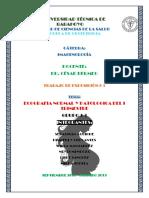 Ecografia Normal- Patologica Del Primer Trimestre de Gestacion