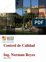Control y Gestión de La Calidad - Unidad 4 - 04 Indices de Capacidad, Métricas 6 Sigma y Análisis de Tolerancias