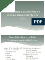 Comunicaciones Inalambricas I