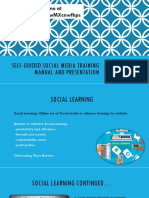 team a self-guided social media training manual and presentation  9