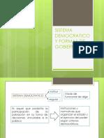Sistema Democratico y Formas de Gobierno