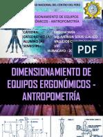 Tarea de Ergonomía (Antropometría) - Vallejos Chavez Bani