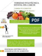 1.- Historia de Los Alimentos