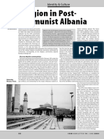 Religion in Post-Communist Albania